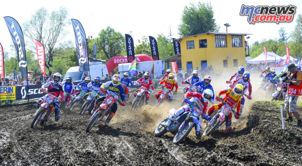 Rider's setting of for the final Cross Test of the 2021 ISDE