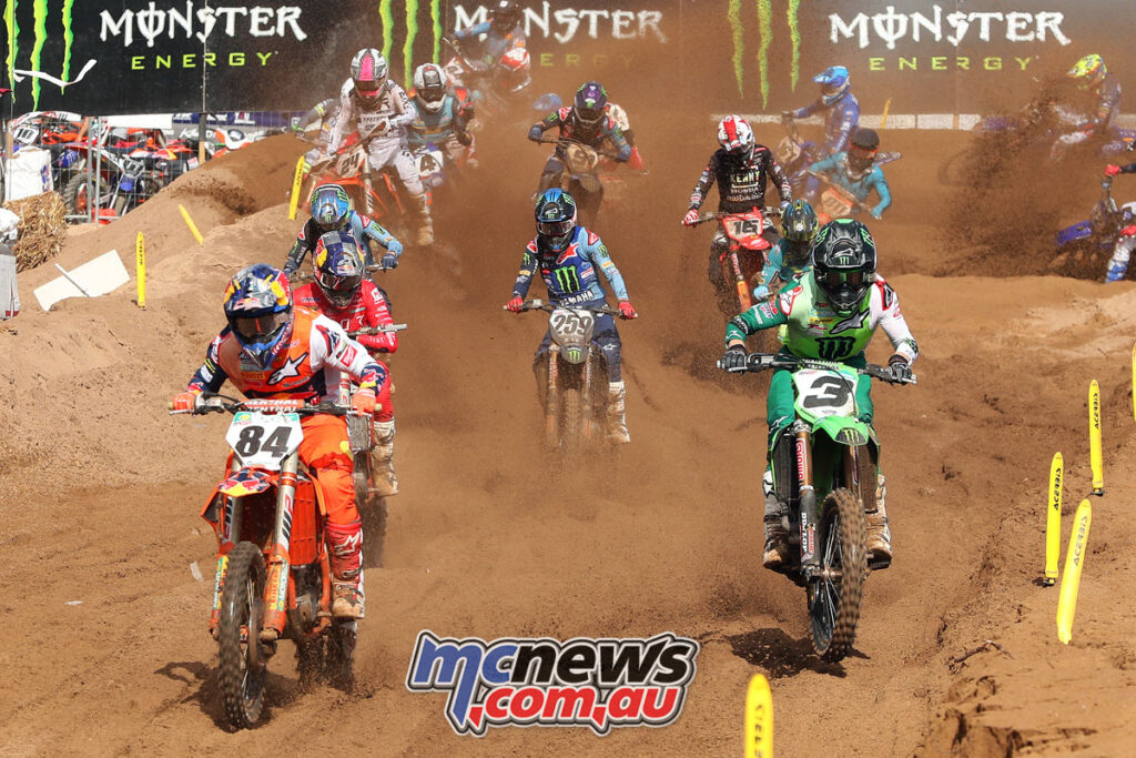 Herlings and Febvre lead from the start