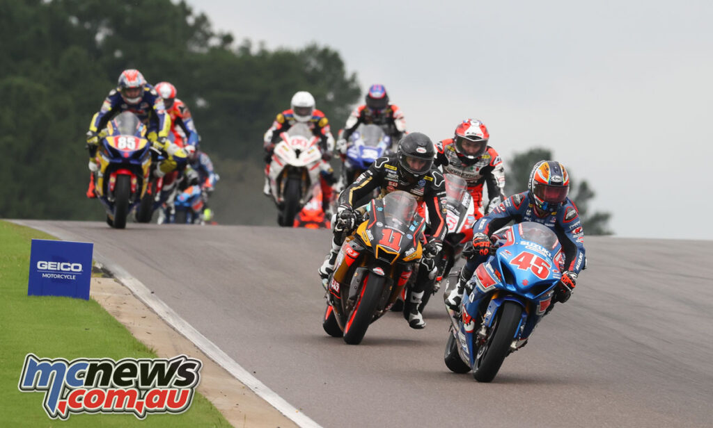Cameron Peterson took one of the Superbike wins at Barber Motorsport Park over the weekend