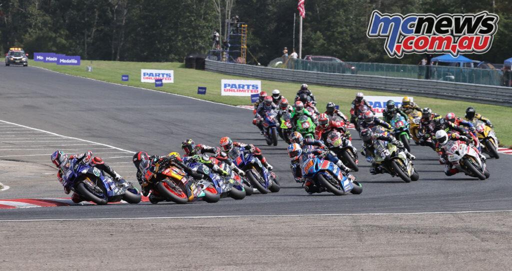 MotoAmerica Superbikes on Saturday