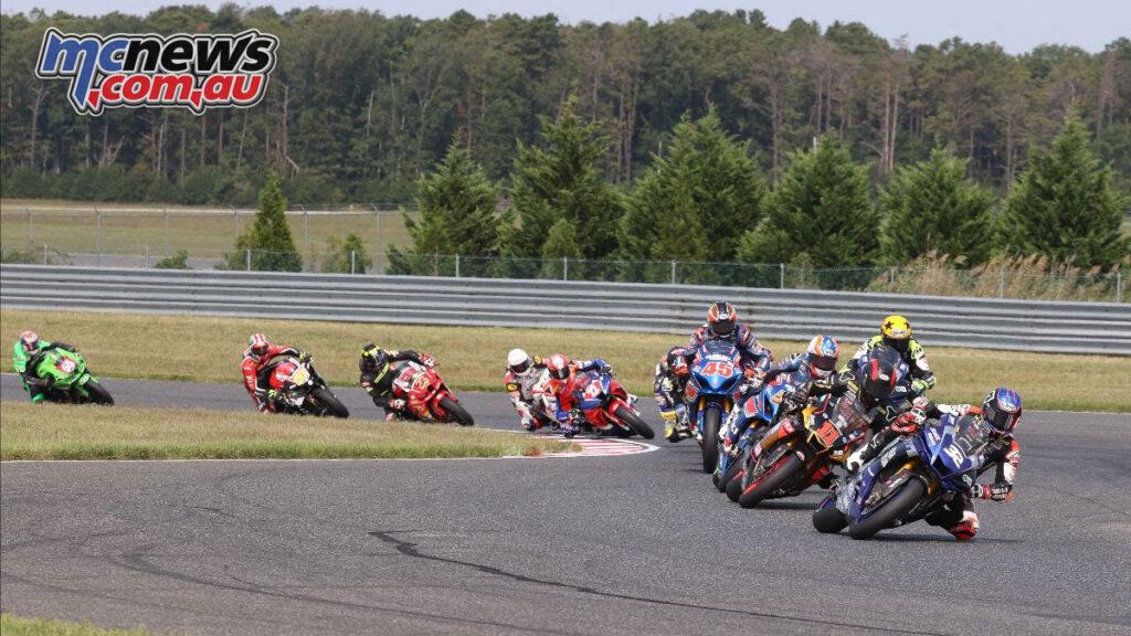 MotoAmerica Superbikes on Sunday