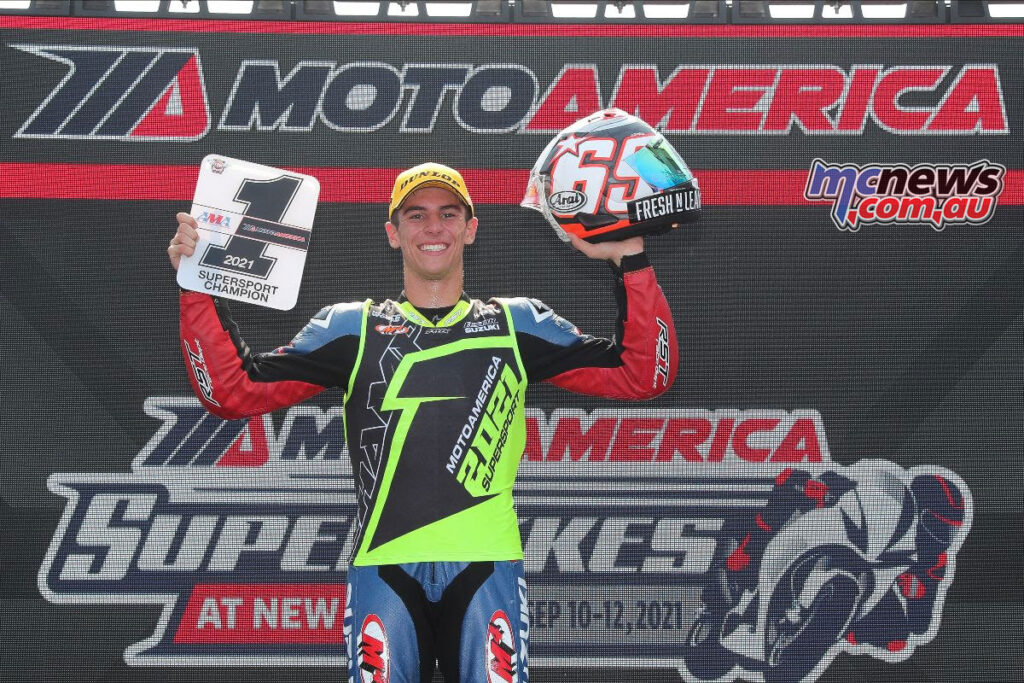 Sean Dylan Kelly took the Supersport title over the weekend