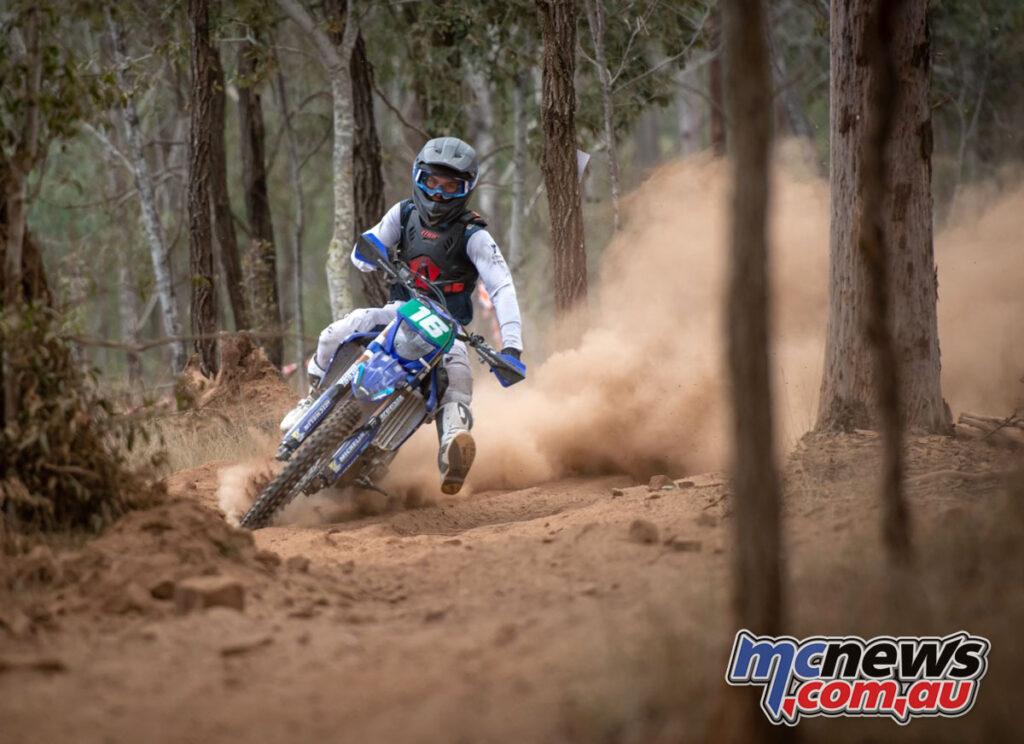 BLU cRU Yamaha's Blake Hollis