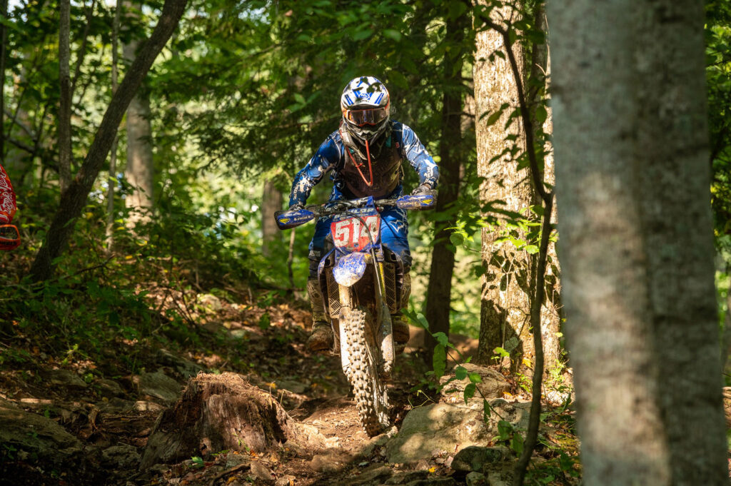 Steward Baylor - 2021 Rocky Mountain Mountaineer GNCC - Image by Ken Hill