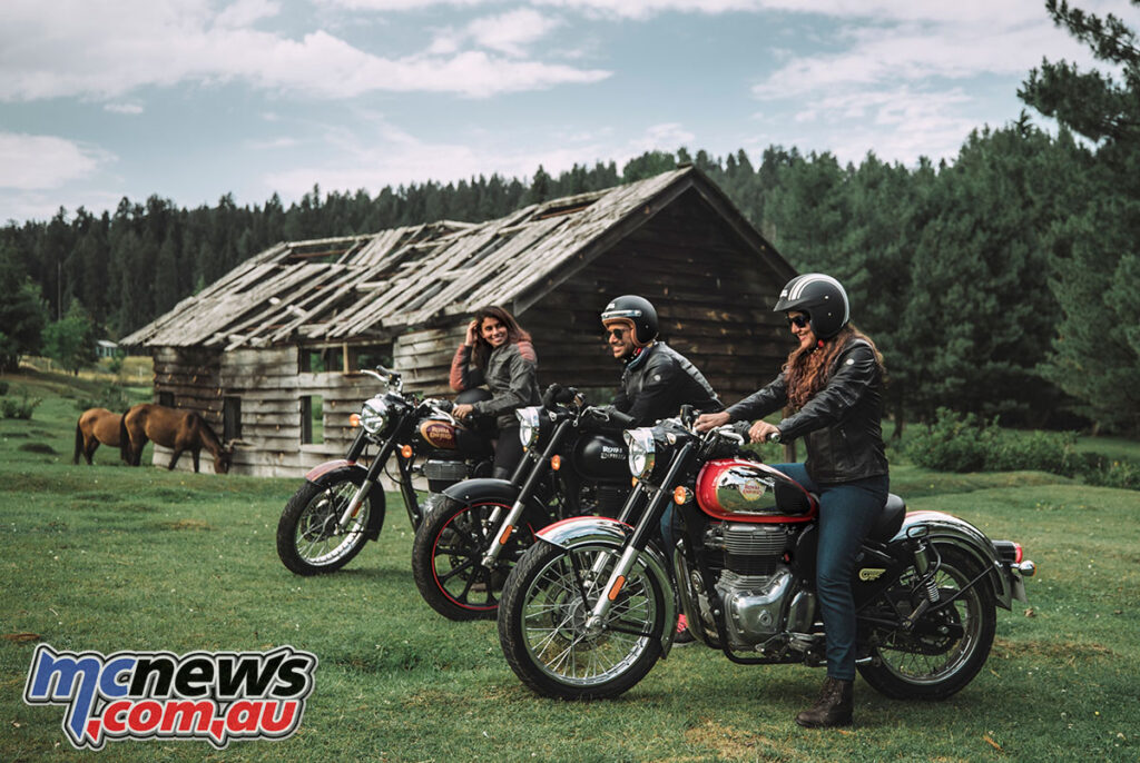 Royal Enfield take the cover off their new Classic 350 range