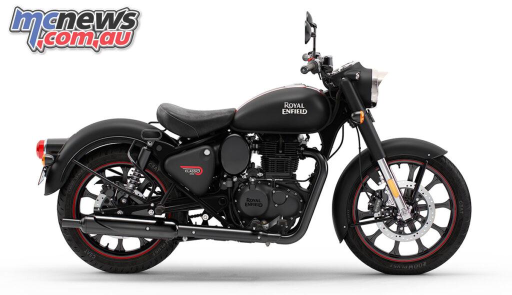 Royal Enfield Classic 350 Dark 'Stealth Black'