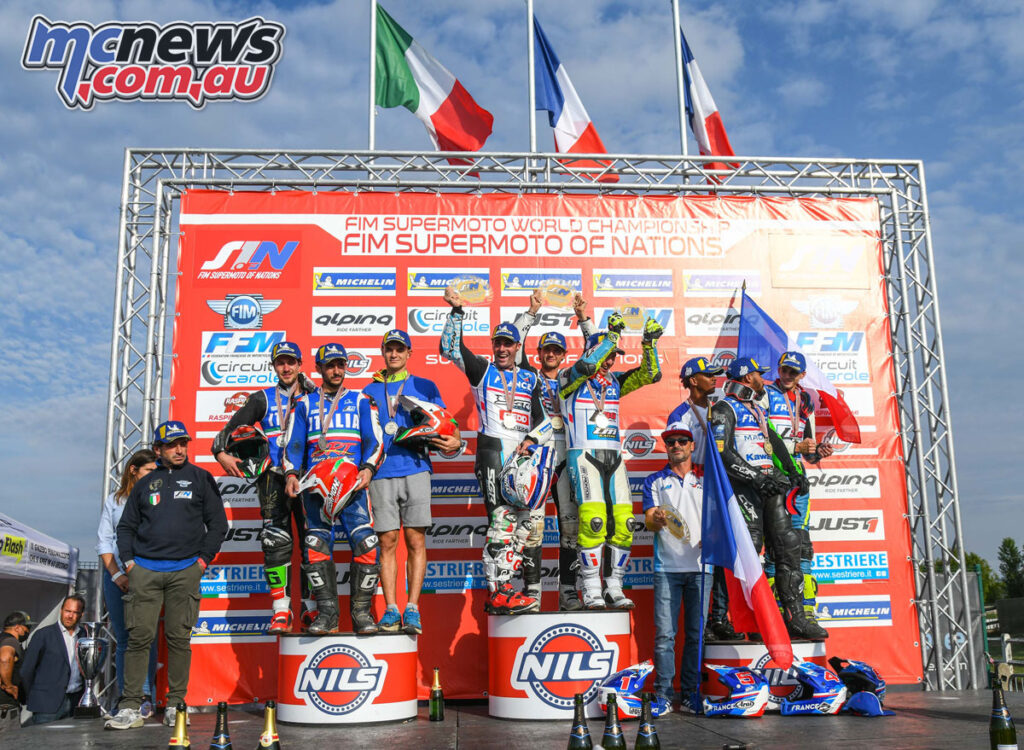 France tops 2021 Supermoto of Nations