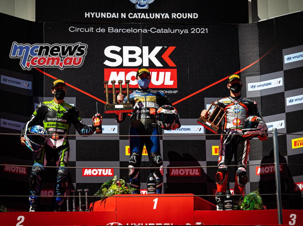 WorldSSP Race 2 Podium -