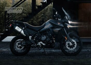2022 Triumph Tiger 900 Bond Edition
