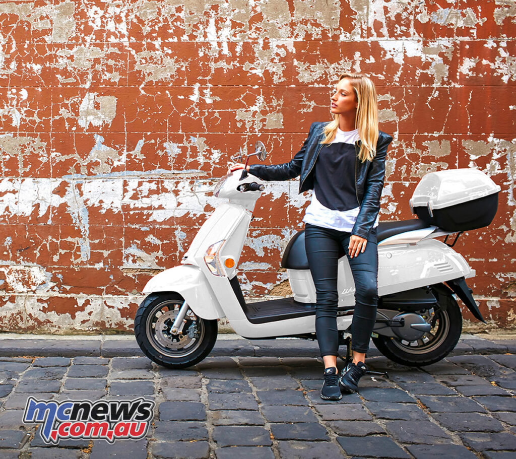 Kymco Like 125 currently on special until November