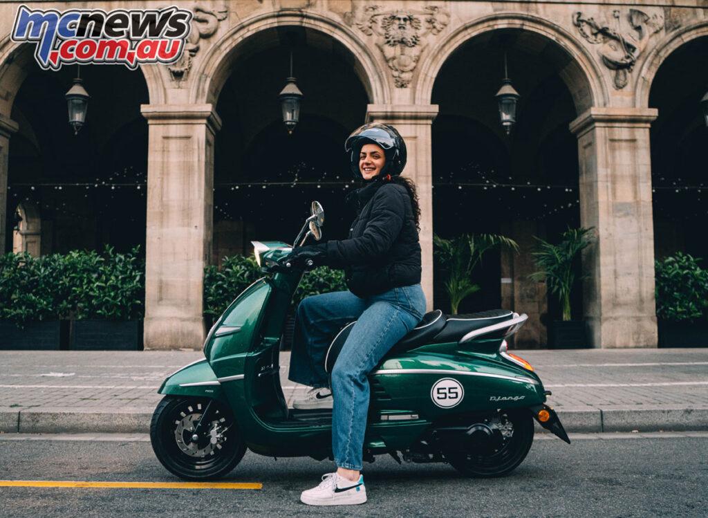 New Sport Racing Green Django 150 arrives in Australia