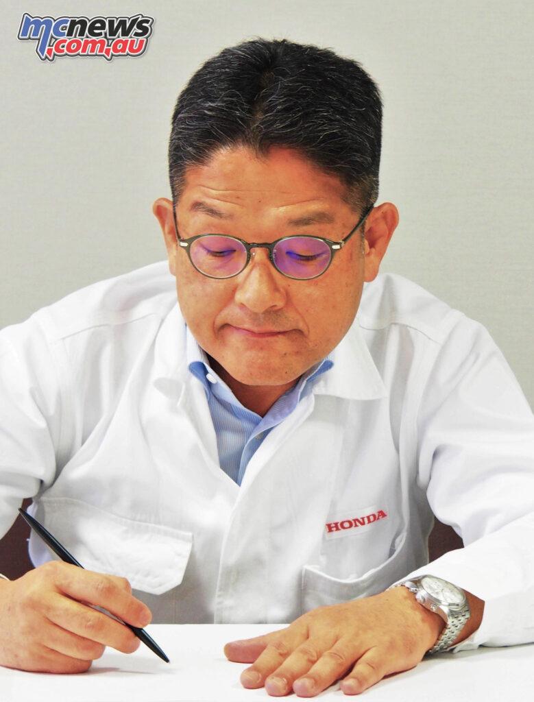 Yoshishige Nomura - Honda Motor Co