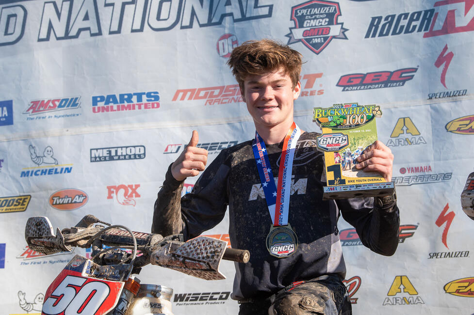 Cole Forbes won his 10th Youth overall - Image by Ken Hill