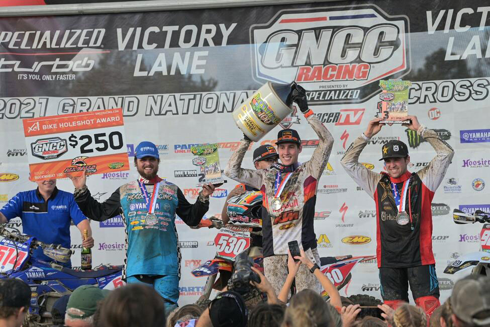 Ben Kelly topped the podium from Steward Baylor and Thad Duvall