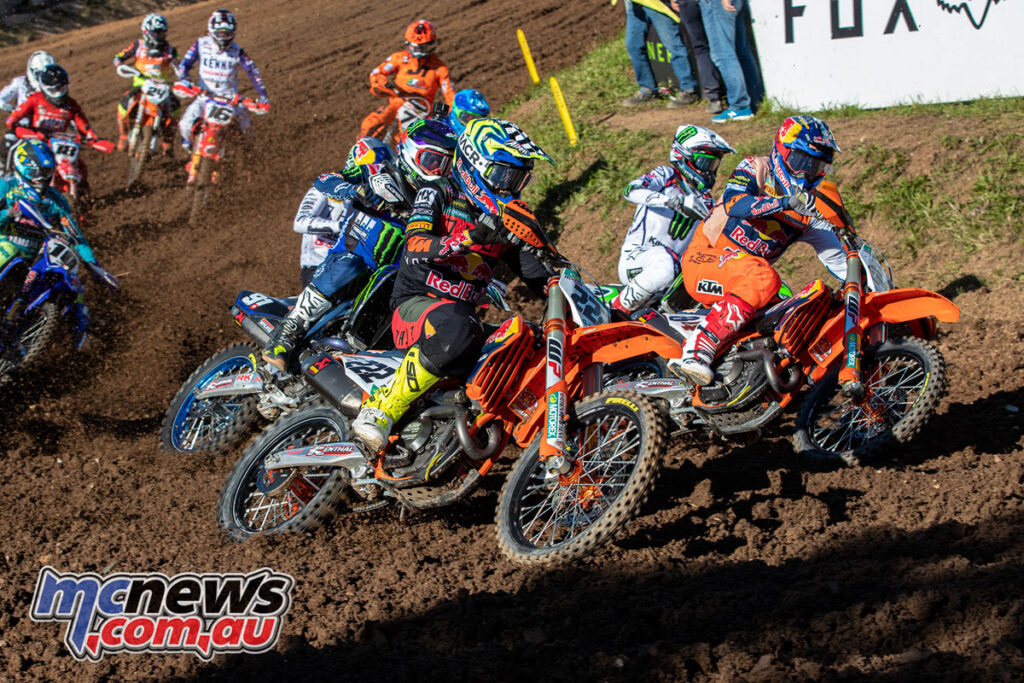 KTM dominated the 2021 MXGP of France, with both MXGP and MX2 wins