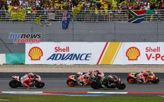 #MalaysianGP Race Start - Image by AJRN