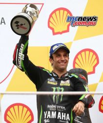 Johann Zarco was on the podium at Sepang