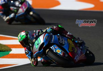 Mobidelli pulls away from Alex Marquez - Image by AJRN