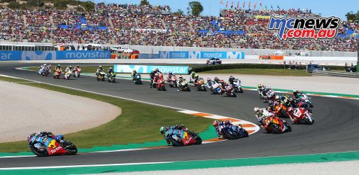 Moto2 Valencia 2017 - Image by AJRN
