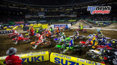 Justin Brayton and Cole Seely fired out of the blocks hard at A2