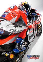 Andrea Dovizioso (#04, Ducati Team rider)