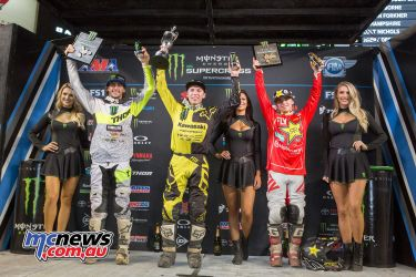2018 AMA Supercross - Round Eight - Tampa - 250SX Results Austin Forkner 2. Dylan Ferrandis 3. Zach Osborne