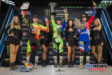 2018 AMA Supercross - Round Eight - Tampa - 450SX Results Eli Tomac 2. Marvin Musquin 3. Jason Anderson