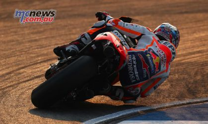 Dani Pedrosa showed the field a clean pair of heels in Thailand - Image by AJRN
