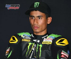 Hafizh Syahrin - Set to be the first Indonesian rider to contest a premier class motorcycle Grand Prix - Image by AJRN