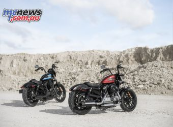 Harley Davidson Forty Eight-Special colour choices