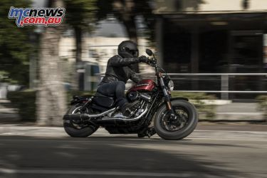 Riding the Harley-Davidson Forty-Eight Special