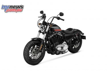 Studio shot of the Harley-Davidson Forty-Eight Special