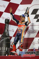 Marc Marquez - 2nd at Qatar season opener - Image by AJRN
