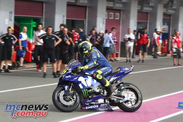 Valentino Rossi - Image by AJRN