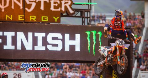 Marvin Musquin at Salt Lake City SX - Image by Hoppenworld