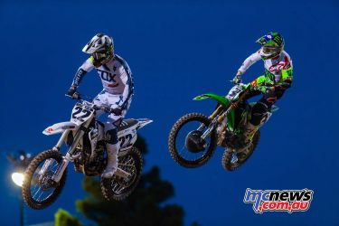 Chad Reed and Eli Tomac - Image by Hoppenworld