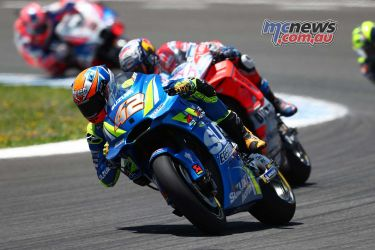 Alex Rins at Jerez - Image by AJRN