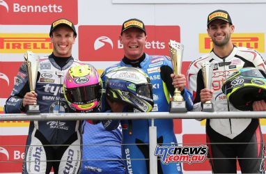 BSB Brands Hatch Billy McConnell Complete Podium ImageDYeomans