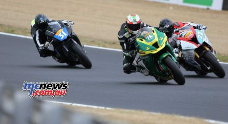 BSB Brands Hatch Bryan Staring leads a group ImageDYeomans