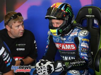 BSB Brands Hatch Josh Brookes Pits Qualifying ImageDYeomans
