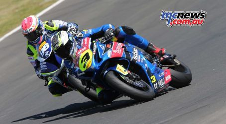 BSB RNd Knockhill Billy McConnell gets closer ImageDYeomans