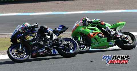 BSB RNd Knockhill Kennedy and Currie close ImageDYeomans