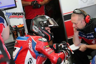 BSB RNd Knockhill OHalloran in the garage ImageDYeomans