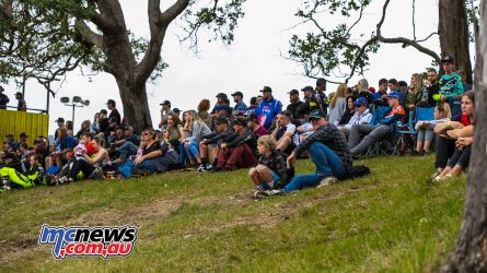 MX Nationals Rnd Conondale Crowd OnHill ImageByScottya