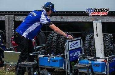 MX Nationals Rnd Conondale Dean Ferris pitboard Tyres ImageByScottya