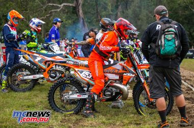 MX Nationals Rnd Conondale Hamish Harwood Gettingready ImageByScottya