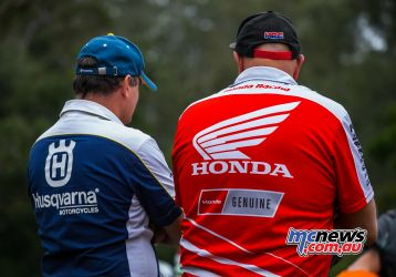 MX Nationals Rnd Conondale Husky Vs Honda ImageByScottya