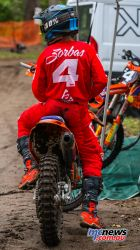 MX Nationals Rnd Conondale Joshua Zorbas Waiting ImageByScottya
