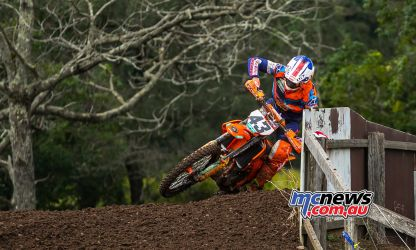 MX Nationals Rnd Conondale Luke Clout CloseFence ImageByScottya