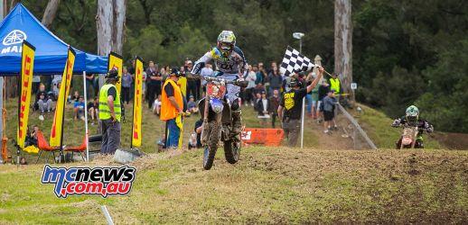 MX Nationals Rnd Conondale MX Race Dean Ferris Wins ImageByScottya
